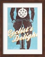Framed Cyclist's Delight