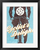 Framed Cyclist's Delight