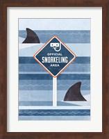 Framed Official Snorkeling Area
