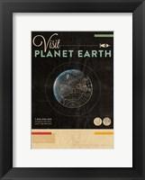 Framed Visit Planet Earth