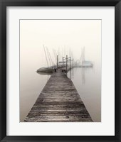 Framed Harbor Fog