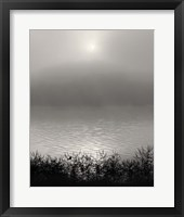 Framed Monochrome Sunrise