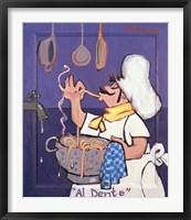 Framed Al Dente