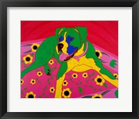 Framed Courageous Clown