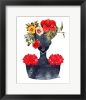 Framed Flower Crown Silhouette I