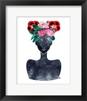 Framed Flower Crown Silhouette II