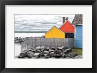 Framed Coastal Geometry