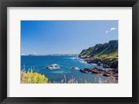 Framed Rocky Cove