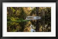 Framed Long White Bridge