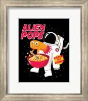 Framed Alien Pops