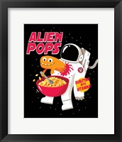 Framed Alien Pops