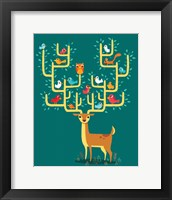 Framed Antler City