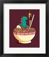Framed Guardian of the Noodles