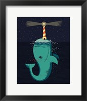 Framed King of The Narwhals