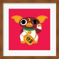 Framed Lucky Mogwai