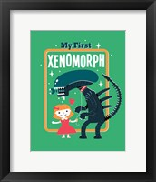 Framed My First Xenomorph