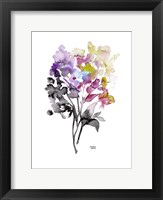 Framed Colorful Bouquet