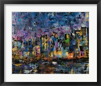 Framed New York Abstract