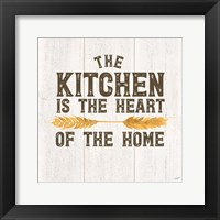 Framed Farm Life II Kitchen Home
