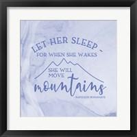 Framed Girl Inspired- Move Mountains