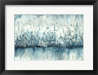 Framed Lakeside Abstract