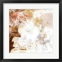 Framed Blush & Umber I