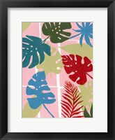 Framed Colorful Tropics I
