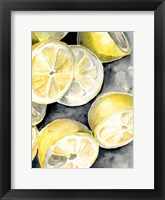Framed Lemon Slices II