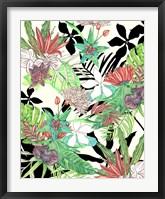 Framed Floral Paradise II