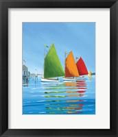 Framed Cape Cod Sail