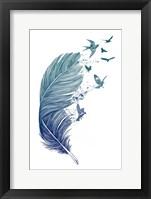 Framed Fly Away