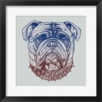 Framed Gritty Bulldog