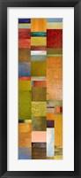 Framed Color Panels with Blue Sky