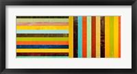Framed Panel Abstract – Digital Compilation