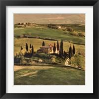 Framed Tuscan Villa