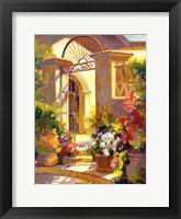 Framed Fragrant Entrance