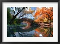 Framed Gapstow Bridge, Fall