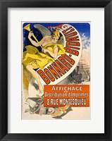 Framed Bonnard Bidault
