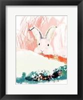 Framed Bunny in the Garden