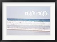 Framed Beach Please