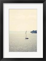 Framed Hazy Sea