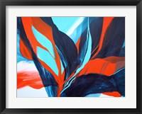 Framed Bird of Paradise