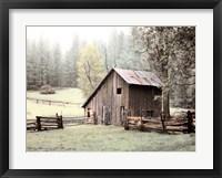 Framed Barn near Sonora