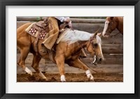 Framed Cutting Horses