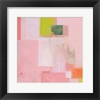 Framed Pink Squares