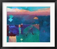Framed Meknes Green