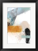 Framed Abstract Blush No. 2