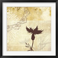 Framed Golden Henna Breeze 2