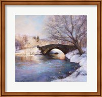 Framed Central Park Bridge