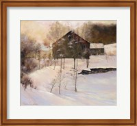 Framed Winter Peace